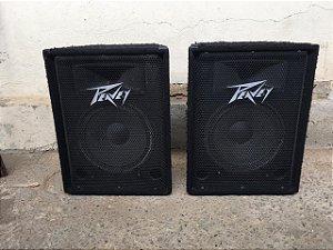 USADO: 02 caixas Peavey carpetadas 12'' duas vias 300WRMS