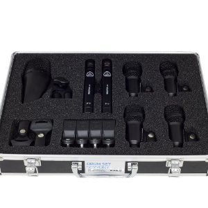Kit de Microfones AKG Drum Set Session 1 para Bateria