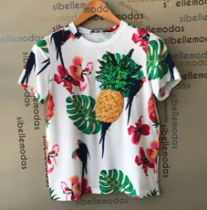 T SHIRT ABACAXI