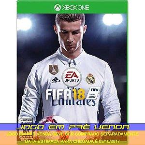 FIFA 18 - XBOX ONE (PRÉ-VENDA)*