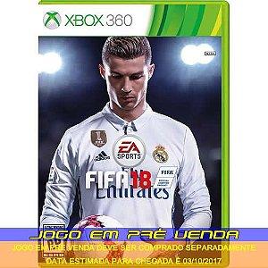 FIFA 18  - XBOX 360 (PRÉ-VENDA)*