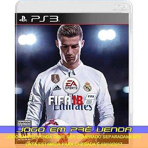 FIFA 18  - PS3 (PRÉ-VENDA)*