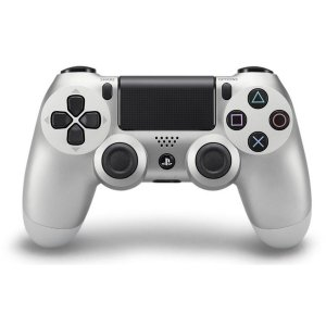 Controle Sony Dualshock 4 Silver sem fio - PS4