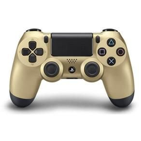 Controle Sony Dualshock 4 Gold sem fio - PS4