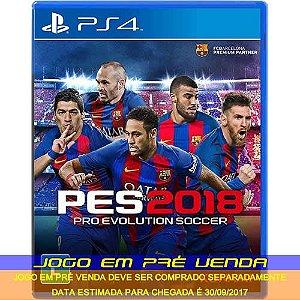 Pro Evolution Soccer 2018 (PRÉ-VENDA)* - PS4