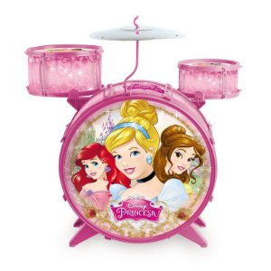 Bateria Infantil Princesas Disney Toyng