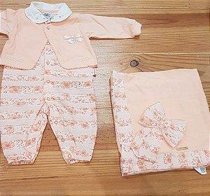 Kit Saída de Maternidade Peach