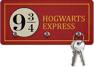 Porta Chaves Ecológico - Hogwarts Express - 3 Pontos