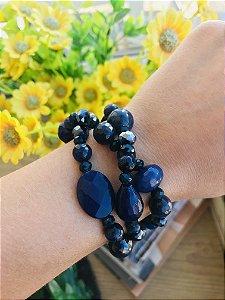 PS Ágata Azul (Pedra Natural)