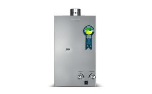 Aquecedor de Água a Gás Automático Digital KOMECO GLP 20FI Prata