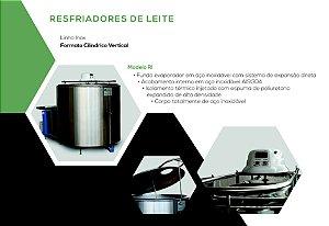 RESFRIADOR DE LEITE INOX - TECNOFRIO - NOVO
