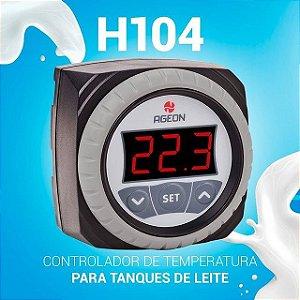 CONTROLADOR ELETRO. TEMP. H104 - BIVOLT AGEON