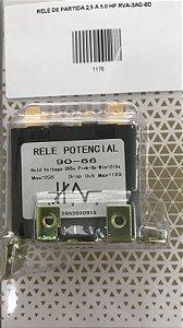 RELE DE PARTIDA 2,5 A 5.0 HP, Rele Voltimétrico,