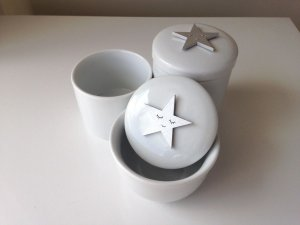 Kit Higiene Porcelana Estrela