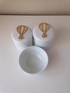 Kit Higiene Porcelana Balão