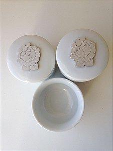 Kit Higiene Porcelana Ovelhinha Tita