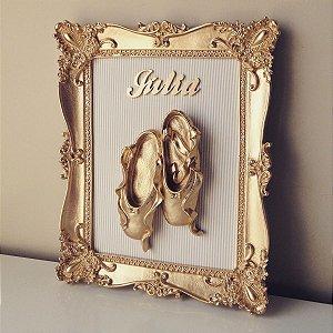 Porta de Maternidade Sapatilha de Ballet