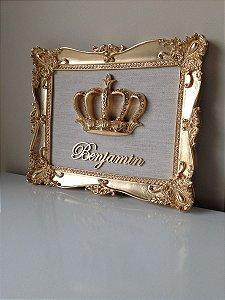 Porta De Maternidade Coroa Real