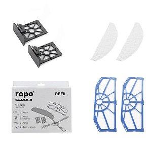 Kit Refil De Reposição Para Ropo Glass 2