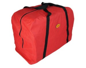 Sacola de Nylon Para Sela Simples Red Dust - Vermelha