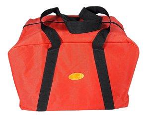 Sacola de Nylon para Tralha com Borrachão -  Red Dust - Vermelha