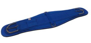 Barrigueira Larga de Neoprene Importada Inox Azul Red Dust