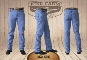 Calça Jeans Masculina Country Clara Red King Original King Farm