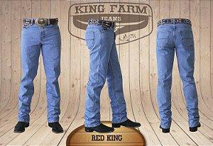 Calça Jeans Masculina Country Clara Red King Original King Farm