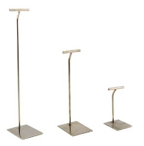 Pedestal Inox para Peg Board