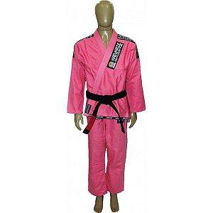 Kimono Kamikaze Tradicional Rosa