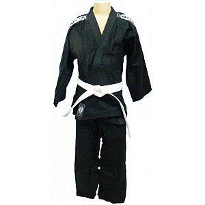 Kimono Judo Infantil Reforçado KMZ Preto