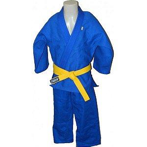 Kimono Judo Infantil Trançado KMZ Azul