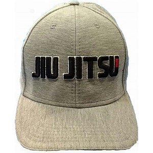 Boné Jiu Jitsu Cinza Aba Reta Kamikaze Sports