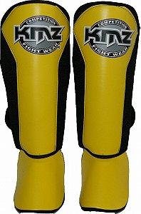Protetor de Canela Amarela KMZ Competition