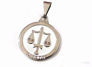 Pingentes Profissão Direito Advogada Niquel