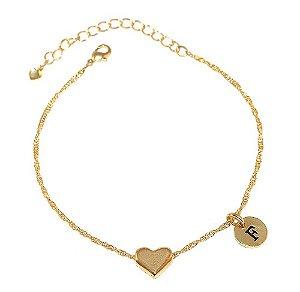 15 Pulseiras Coração Lembrancinha Madrinhas Folheado Ouro 18