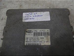 Módulo Injeção Eletronica Fiat Palio 1.5 Gasolina Lt69 cod.  IAW 1G7SD.41