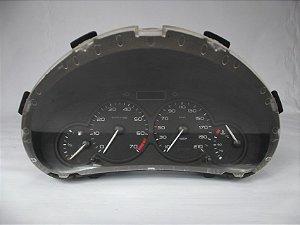 Painel De Instrumentos Peugeot 206 C/ 1 Tomada e fundo preto
