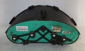 Painel De Instrumentos Peugeot 206 Fundo Prata C/ 1 Tomada
