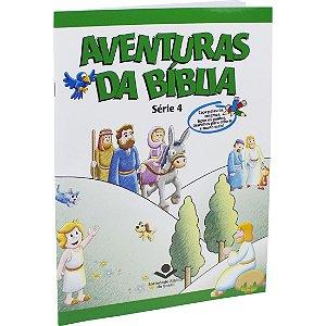 AVENTURAS DA BÍBLIA BROCHURA ILUSTRADA VOL.4