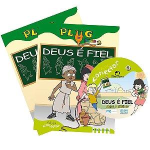 PLUG KIDS 02-KIT DEUS É FIEL
