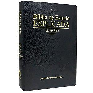 BÍBLIA EXPLICADA LETRA GRANDE PRETA