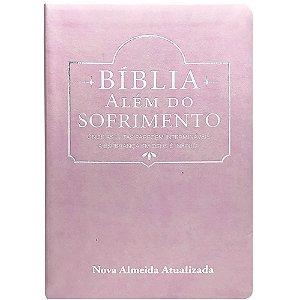 BÍBLIA ALÉM DO SOFRIMENTO ROSA