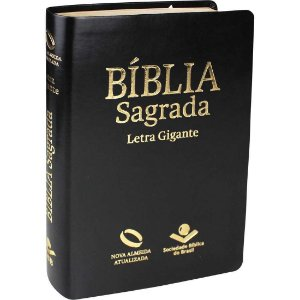 BÍBLIA NAA GIGANTE - PRETA NOBRE