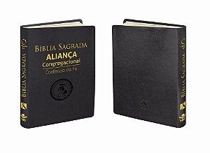 BÍBLIA ALIANÇA CONGREGACIONAL AZUL OU PRETA