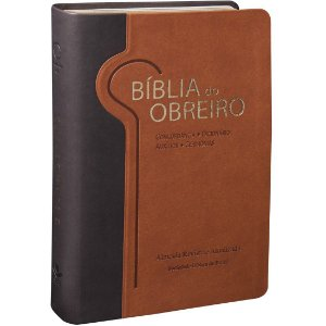 BÍBLIA DO OBREIRO ARA MARROM CLARO/ESCURO