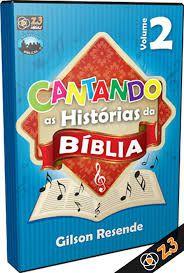 CD CANTANDO AS HISTÓRIAS DA BÍBLIA VOL. 2