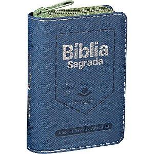 BÍBLIA RA BOLSO ZÍPER - VERDE
