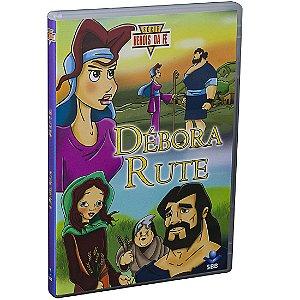 DVD-HERÓIS DA FÉ - DÉBORA E RUTE