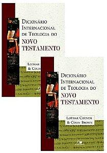 DICIONÁRIO INTERNACIONAL DE TEOLOGIA DO NOVO TESTAMENTO - 2 VOLUMES